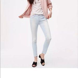"""LOFT Step Hem Skinny Jeans Tall 29"""" Inseam"""